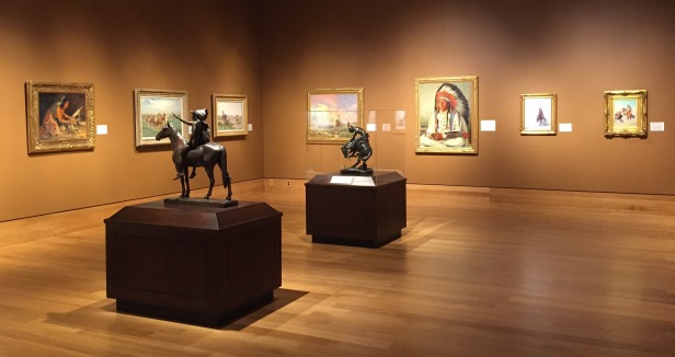 Installation view at Booth Western Art Museum, Cartersville, GA. Photo credit Kelise Franclemont.
