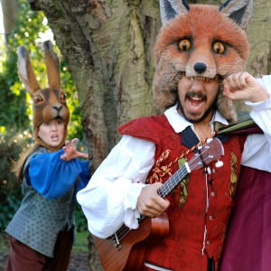 The Fabularium, 'Reynard the Fox' at St Mary's Church Square, Putney, Wandsworth Arts Fringe 2016, Wandsworth, London. Image courtesy the artists and WandsworthFringe.com