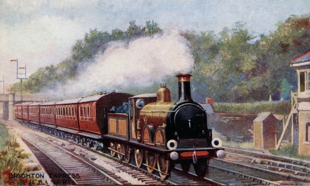 Illustration of London, Brighton and South Coast Railway B1 Class of locomotive. Image courtesy robpashcroft.wordpress.com