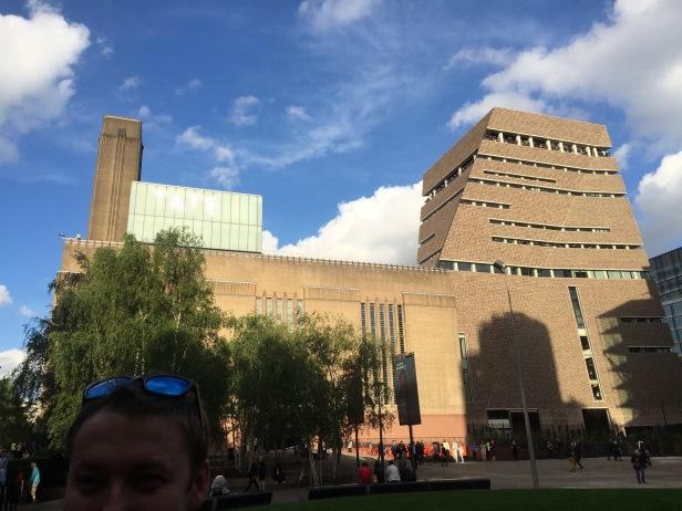 The New Tate Modern, London. Photo credit Kelise Franclemont.