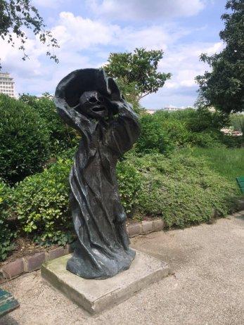 Reinout d'Haese (Belgium), 'Melmouth', 1966, in Musée de la Sculpture en Plein Air, Paris. Photo credit Kelise Franclemont.