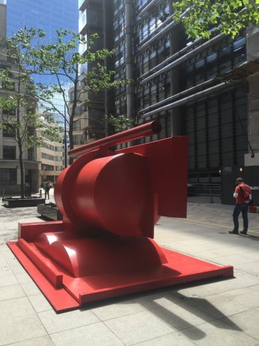 Anthony Caro, 'Aurora', 2016, in Sculpture in the City 2016, London. Photo credit Kelise Franclemont.
