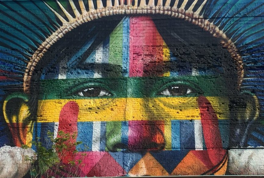 Pra a mau is alive with street art including record for Mural eduardo kobra
