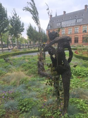 Guiseppe Penone, 'Penone in the Gardens' at Rjjksmuseum, Amsterdam. Photo: Kelise Franclemont.