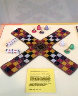 Pachisi, 19th century, India, V&A Museum of Childhood, London. Photo credit Kelise Franclemont.