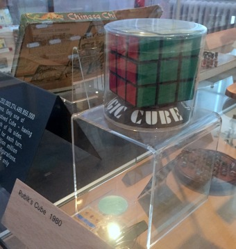 Rubik's cube, 1980, V&A Museum of Childhood, London. Photo credit Kelise Franclemont.