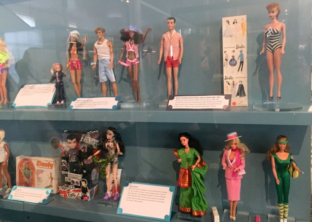 Barbie by Mattel, 1960s-1980s, V&A Museum of Childhood, London. Photo credit Kelise Franclemont.