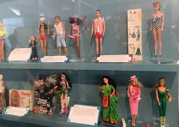 Barbie by Mattel, 1960s-1980s, V&A Museum of Childhood, London. Photo credit Kelise Franclemont.