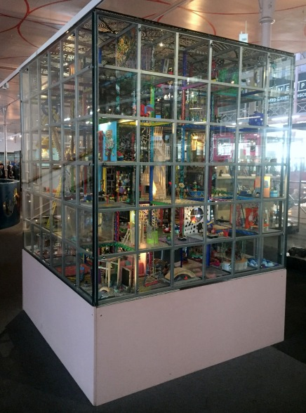 Central display case, V&A Museum of Childhood, London. Photo credit Kelise Franclemont.