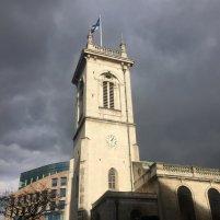 Church of St Andrew at Holborn, London. Photo credit Kelise Franclemont.