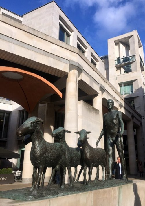 Elisabeth Frink, 'Paternoster', 1975, bronze, Paternoster Square, EC4, London. Photo credit Kelise Franclemont.