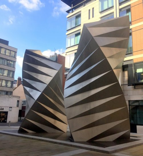 Thomas Heatherwick, 'Paternoster Vents', 2000, stainless steel, Paternoster Square, EC4, London. Photo credit Kelise Franclemont.