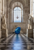 Michelangelo Arteaga, 'Spiral of Life', 2017, polyester resin, fibreglass, light, and sound, in 'Stations of Water' at St Paul's Cathedral, London. Image credit Graham Lacdao.